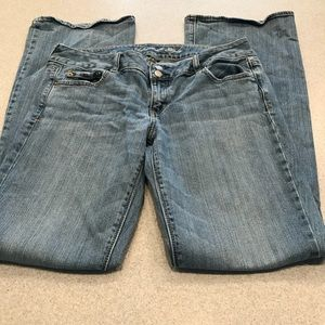 American Eagle Outfitters Jeans - American Eagle 14 X LONG Artist flare jeans